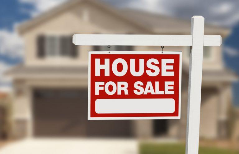 """House for Sale"" Schild"